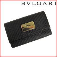 ■管理番号:X10692 【商品説明】 ブルガリ【BVLGARI】の  キーケースです。 ◆ランク ...