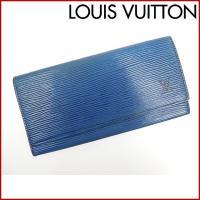 ■管理番号:X10932 【商品説明】 ルイヴィトン【LOUIS VUITTON】の  長札入れです...