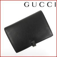 ■管理番号:X10956 【商品説明】 グッチ【GUCCI】の SV金具 手帳カバーです。 ◆ランク...