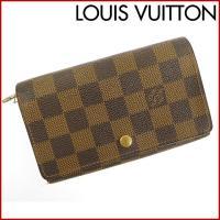 ■管理番号:X13131 【商品説明】 ルイヴィトン【LOUIS VUITTON】の  二つ折り財布...