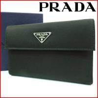 ■管理番号:X13172 【商品説明】 プラダ【PRADA】の  二つ折り財布です。 ◆ランク 【7...