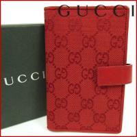 ■管理番号:X13226 【商品説明】 グッチ【GUCCI】の  手帳カバーです。 ◆ランク 【7】...
