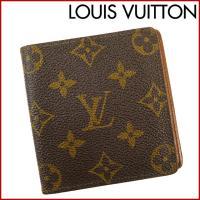 ■管理番号:X13752 【商品説明】 ルイヴィトン【LOUIS VUITTON】の  二つ折り札入...