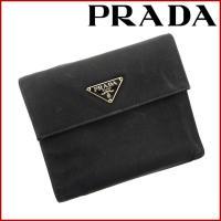 ■管理番号:X14693 【商品説明】 プラダ【PRADA】の  二つ折り財布です。 ◆ランク 【6...