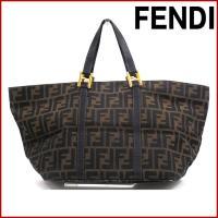 ■管理番号:X15102 【商品説明】 フェンディ【FENDI】の ゴールド金具 トートバッグです。...