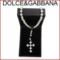■管理番号:X409 【商品説明】 ドルチェ&ガッバーナのロザリオネックレスです。輝くストー...