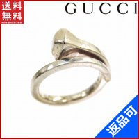 ■管理番号:X4278 【商品説明】 グッチ【GUCCI】の  指輪です♪ ◆ランク 【6】 [6]...