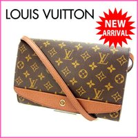 ■管理番号:X5190 【商品説明】 ルイヴィトン【Louis Vuitton】の ボルドー ショル...