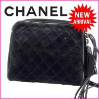 ■管理番号:X5219 【商品説明】 シャネル【CHANEL】の フリンジ付き ショルダーバッグです...