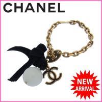 ■管理番号:X5542 【商品説明】 シャネル【CHANEL】の 「ココマーク×リボン」 チャームで...