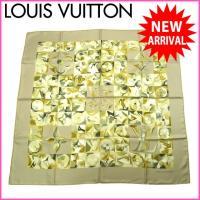 ■管理番号:X6896 【商品説明】 ルイヴィトンの  スカーフです♪ 定番人気のモノグラム系柄☆肌...