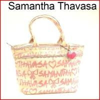■管理番号:X8805 【商品説明】 サマンサタバサ【Samantha Thavasa】の  トート...