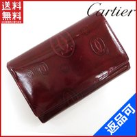 ■管理番号:X9124 【商品説明】 カルティエ【Cartier】の ハッピーバースデイ 二つ折り財...