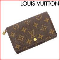 ■管理番号:X9663 【商品説明】 ルイヴィトン【LOUIS VUITTON】の  二つ折り財布で...