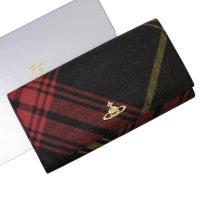 オーブ 二つ折り長財布 マルチカラー×ゴールド PVC×レザー 中古
