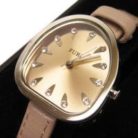 腕時計 ピンク×シルバー ステンレス ベルト:レザー 中古