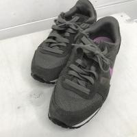 ナイキ GENICCO スニーカー I5761 灰色 / グレー × 紫 / パープル NIKE【中...