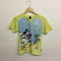 ヨネックス Tシャツ トレーニングウェア 黄色 / イエロー YONEX【中古】【Tシャツ】