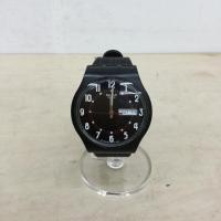 スウォッチ 腕時計 0076100202842 黒 / ブラック swatch【中古】【腕時計】