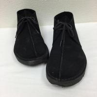 クラークス  デザートトレック ブラック スエード ブーツ CLARKS TREK 36440 26...