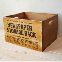 北海道の工場で職人がひとつひとつ製作。 まるで屋根裏部屋から出てきたような使い込んだ雰囲気の木箱。 ...