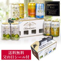 父の日 ビール プレゼント ギフト セット 父の日ギフト 飲み比べ 送料無料 クラフトビール 軽井沢ビール 60代 70代 80代 7種8缶 350ml×8缶 C-C08A