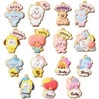 【10月28日入荷 予約商品】BT21 クッキーチャームコット 14個入りBOX