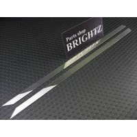 BRIGHTZ ヴォクシー VOXY 70系 超鏡面ステンレスメッキスライドレールパネル 2PC SLI-PAN-012