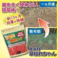 農薬を使わない除草作戦!1ヶ月後が違う!●最長で約10ヶ月間も持続可能!●ペットもお子様も安心の除草...