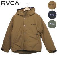 19FW RVCA ジャケット RVCA PUFFA JACKET AJ042-760: 正規品/ルーカ/ メンズ/プルオーバー/AJ042760/cat-fs