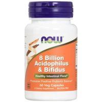 Now Foodsの「80億アシドフィルス菌&ビフィズス菌」は乳酸菌の中でも知名度の高いビフィズス菌...