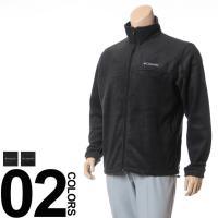 胸のブランドロゴがアクセントのスタンドカラージャケット。フリース素材で保温性と肌ざわりが良いです。軽...
