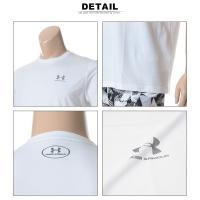 大きいサイズ メンズ Tシャツ 半袖 1XL 2XL 3XL アンダーアーマー ヒートギア ルーズ UNDER ARMOUR HEATGEAR LOOSE 胸ロゴ クルーネック