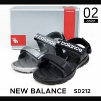 NEW BALANCE (ニューバランス) SD212 サンダル SANDAL スポーツサンダル  ...