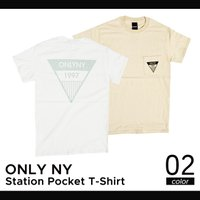 ONLY NY(オンリーニューヨーク) Station Pocket T-shirt Tee Tシャ...
