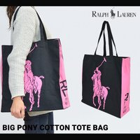 POLO Ralph Lauren ポロ ラルフローレン BIG PONY COTTON TOTE ...