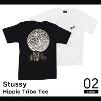 ステューシー STUSSY HIPPIE TRIBE TEE Tシャツ 半袖 カットソー ストリート...