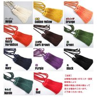 刀剣(真剣・居合刀)用の金襴袋の人絹製房紐です。 サイズは刀用・脇差用・短刀用とございます。 ■サイ...
