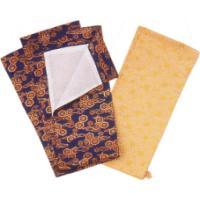 京都西陣織の着物の生地を使用した刀剣(真剣・居合刀)用の金襴袋です。 サイズは刀用・脇差用・短刀用と...
