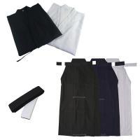 お買い得価格の居合衣・袴・帯の3点セットです。 丈夫なポリエステル地のコストパフォーマンスに優れた ...