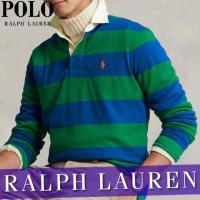 ポロ ラルフローレン  ラグビー/ラガーシャツ  ポロシャツ  半袖  メンズ  ボーダー  ポニー  アイコニック  XS〜XXL  新作 RL