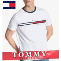 トミーヒルフィガー  Tシャツ  丸首  メンズ  半袖  ボーダー  XS〜XXL  新作  TOMMY  カジュアル
