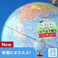 送料・ラッピング無料!子供用、学習用地球儀の新定番、学習に便利な「地球儀スケール」付きの新製品!  ...