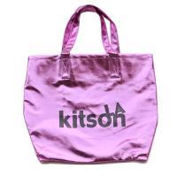KITSON キットソン LA グリッター メタリック トート ピンク 003382