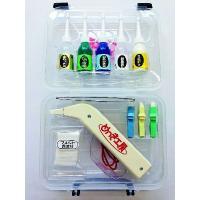 ■乾電池を電源として筆めっきが出来る簡易めっき用具です。安価で簡便に小物めっきや部分的な補修ができま...