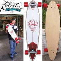 ●USA直輸入、カリフォルニアテイスト満載なロングスケートボード!  ●クラシカルで美しいアウトライ...