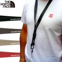CASHLESS+P5倍 送料込み価格 ノースフェイス ネックストラップ North Face おしゃれアウトドアブランド ネームホルダー TNF Lanyard