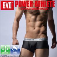 マイクロボクサーパンツ BVD POWER-ATHLETE ローライズ スポーツアンダーウェア