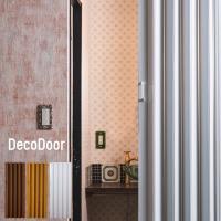 洗面所や階段の間仕切り、パーテーションにアコーディオンカーテン アコーディオンドア パネルタイプ ■...