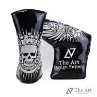 The Art ヘッドカバー Skull Over the Limit  存在感たっぷりのドクロ刺繍...